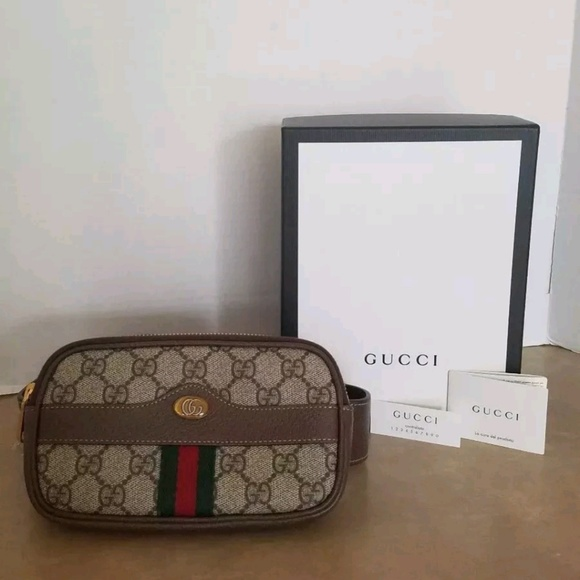 8de1d10b5ae Gucci Ophidia GG Supreme mini belt bag